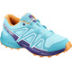 Salomon Junior Speedcross Shoes Blue Curacao/Acai/Bird of Paradise